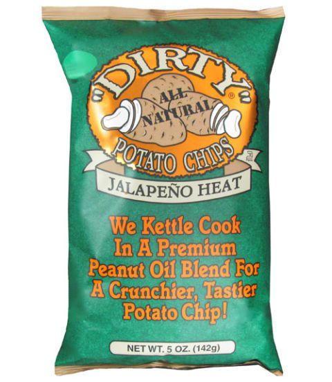 Jalape & # x00F1; o Heat, Dirty Potato Chips ($2.29 for 5 oz)