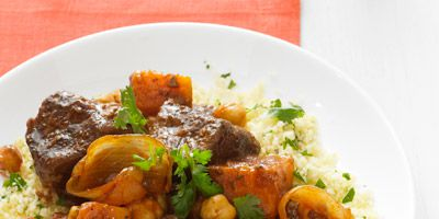 krydret beef and butternut squash stew