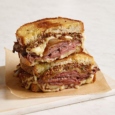 stege beef and french onion grilled cheese